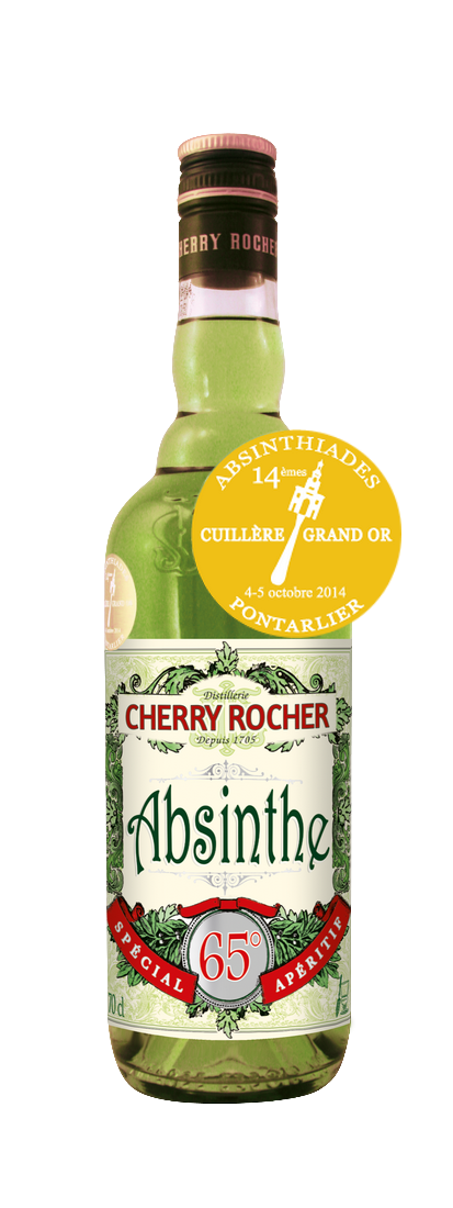 Absinthe Grand Or - Cherry Rocher
