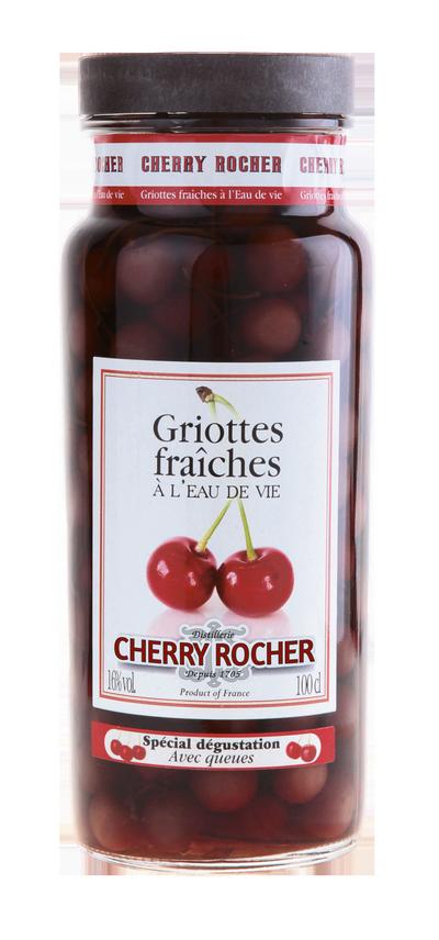 Griottes queues longues - Cherry Rocher