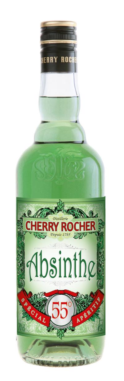 Green Absinthe 55° - Cherry Rocher