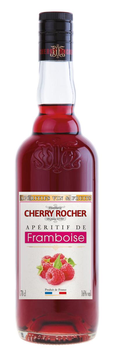 Apéritif de framboise - Cherry Rocher