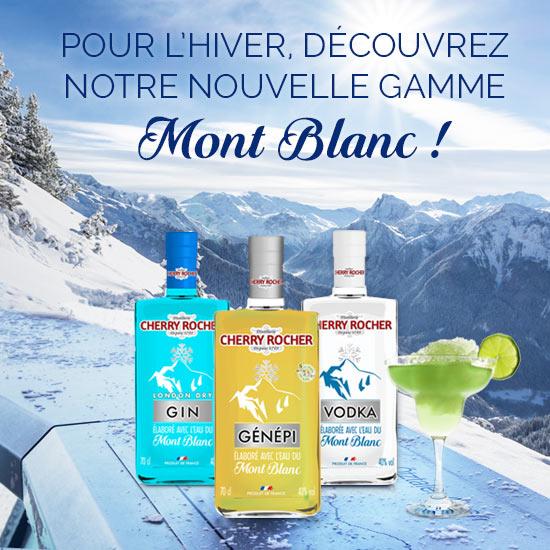 Bandeau de la gamme Mont Blanc