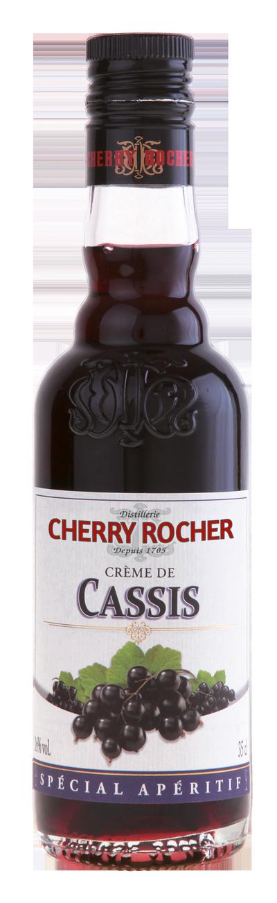 Crème de cassis / Blackcurrant liqueur - Cherry Rocher