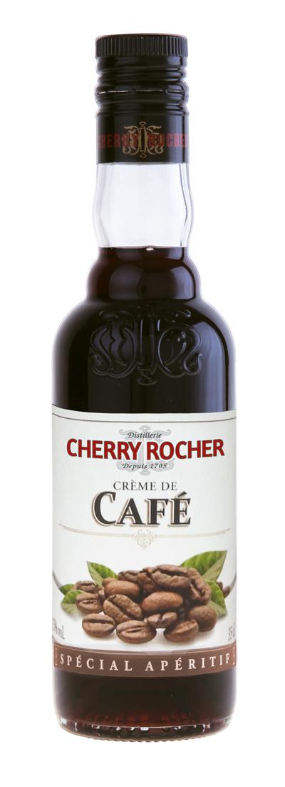 Crème de café / Coffee liqueur - Cherry Rocher