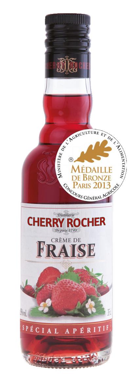 Crème de fraise / Strawberry liqueur - Cherry Rocher