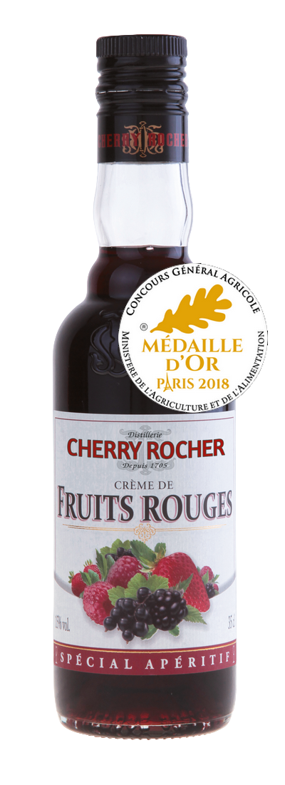Crème de fruits rouges / Red fruits liqueur - Cherry Rocher