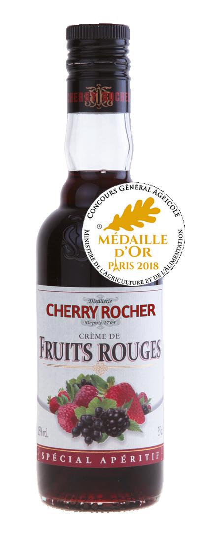 Crème de fruits rouges - Cherry Rocher
