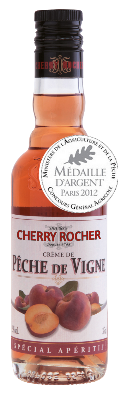 Crème de pêche de vigne / Vinepeach liqueur - Cherry Rocher