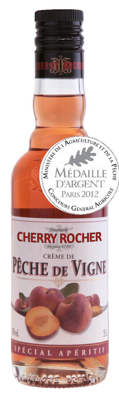 Crème de pêche de vigne - Cherry Rocher