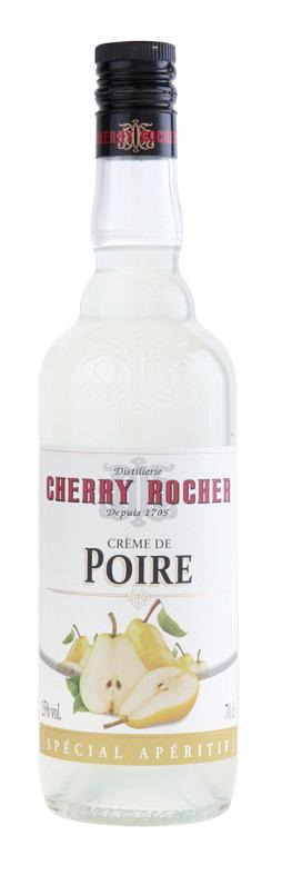 Crème de poire / Pear Liqueur - Cherry Rocher