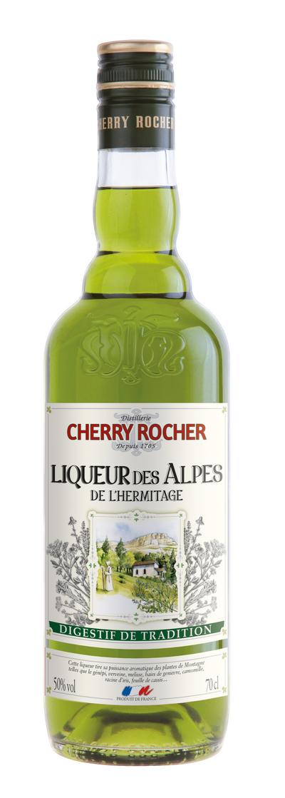 Liqueur verte de l'Hermitage - Cherry Rocher