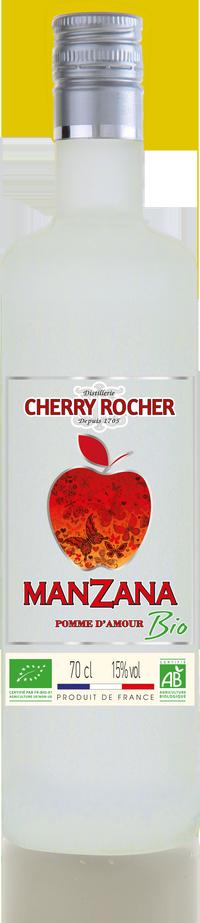 Manzana Pomme d'Amour BIO certifiée AB - Cherry Rocher