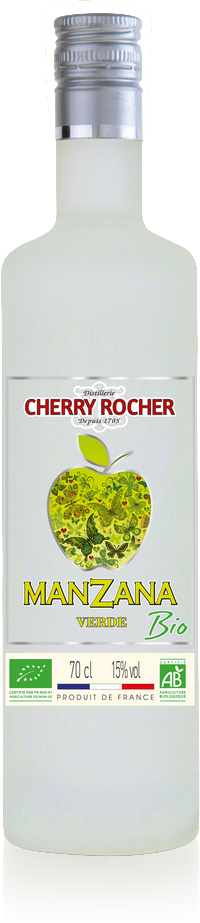 Manzana Verde BIO certifiée AB - Cherry Rocher
