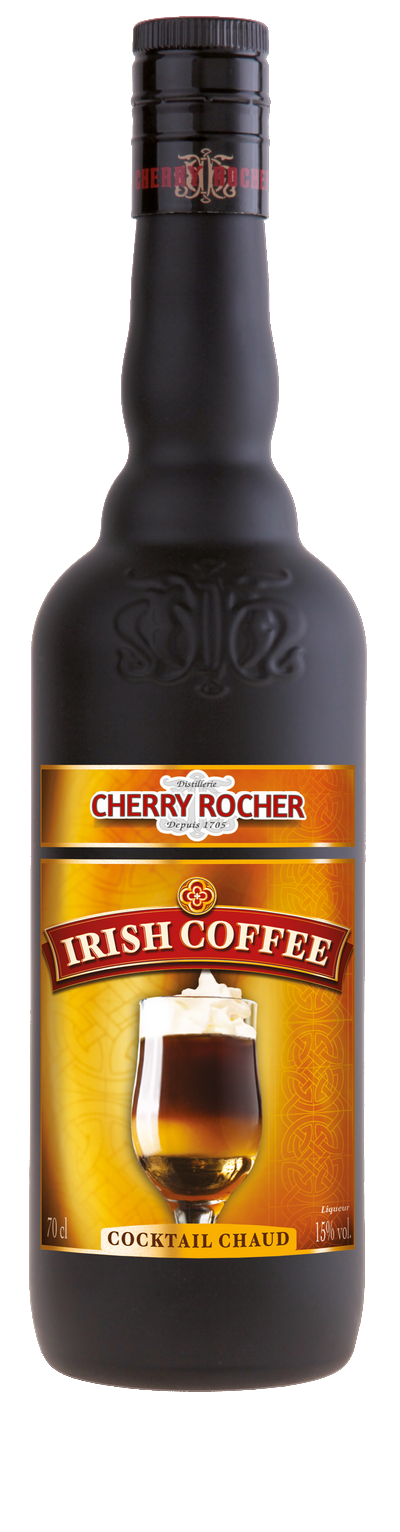 Irish coffee - Cherry Rocher