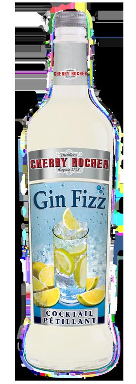 Gin fizz - Cherry Rocher