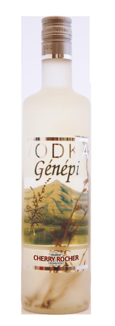 Vodka Génépi - Cherry Rocher