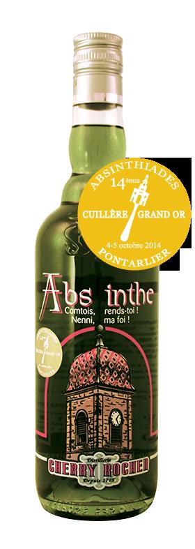 Green Absinthe 65° serig. Franche Comté - Cherry Rocher