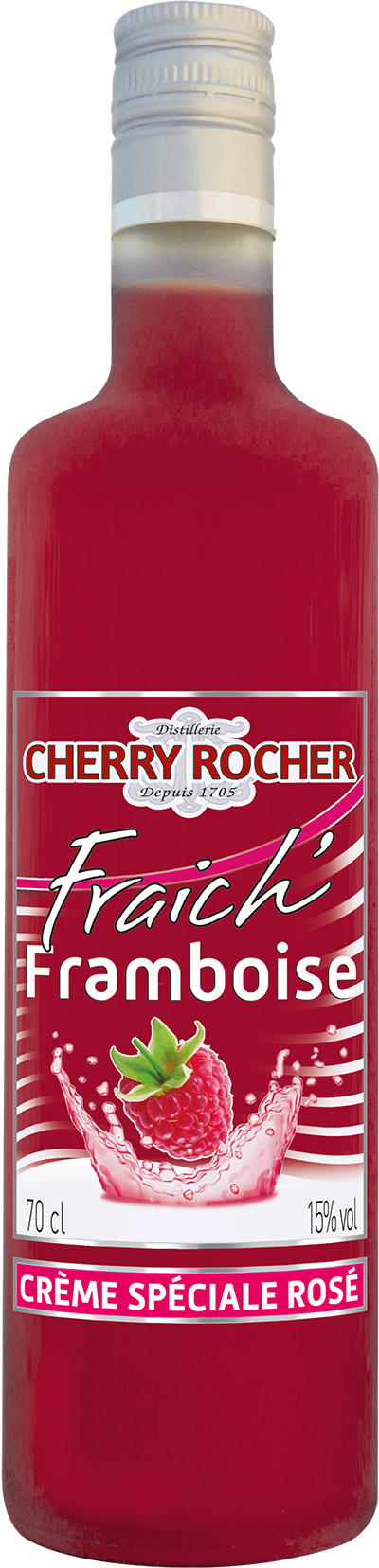 Fraich' Raspberries - Cherry Rocher