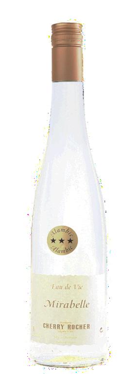 Eau de vie de mirabelle / Mirabelle Brandy - Cherry Rocher