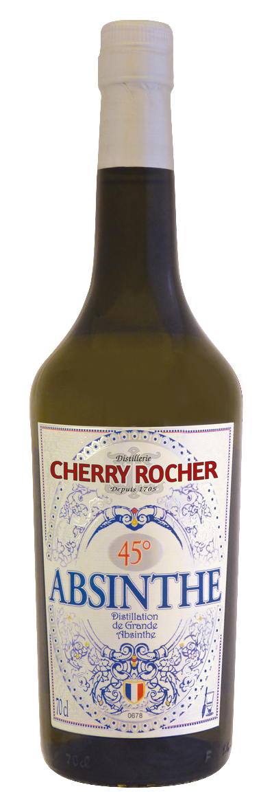 Green Absinthe 45° - Cherry Rocher