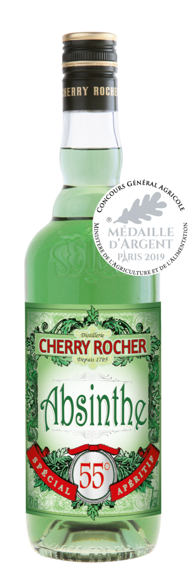 Green Absinthe 55° - Cherry Rocher