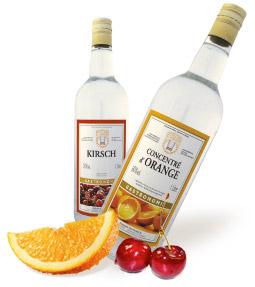 Alcools pour la gastronomie