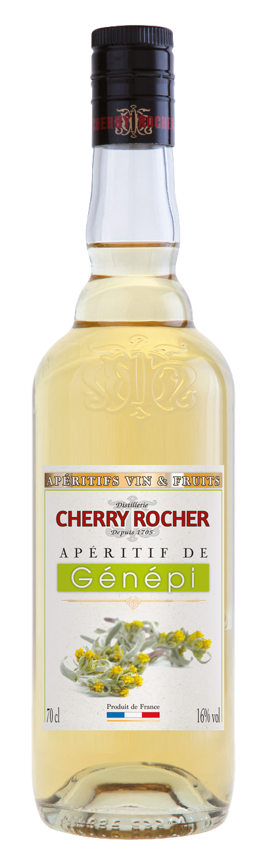 Apéritif de génépi - Cherry Rocher