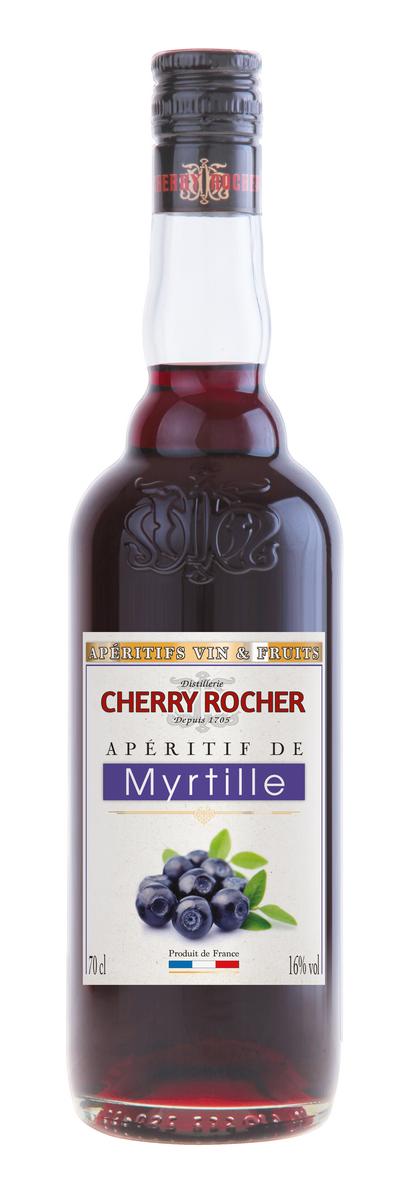 Apéritif de myrtilles / Blueberry - Cherry Rocher