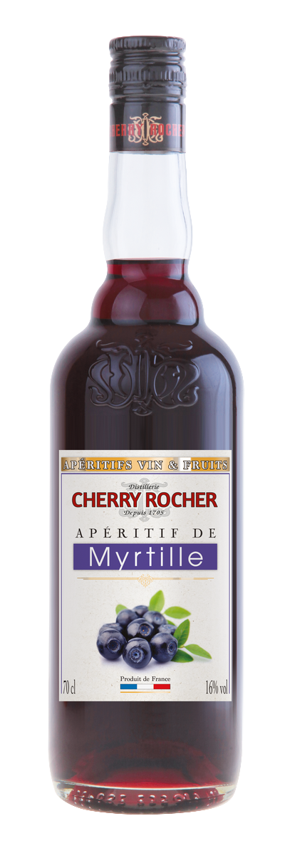 Apéritif de myrtille - Cherry Rocher