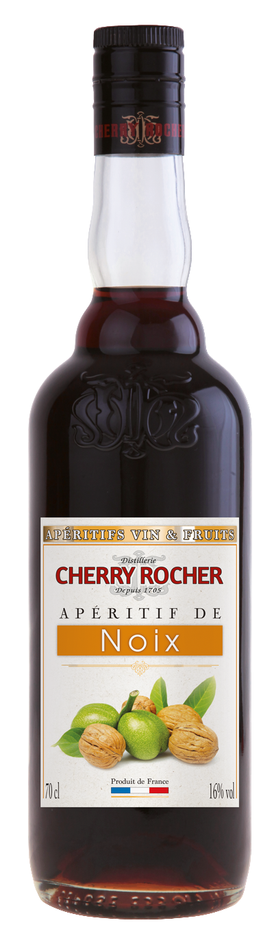Apéritif de noix / Walnut Aperitif - Cherry Rocher