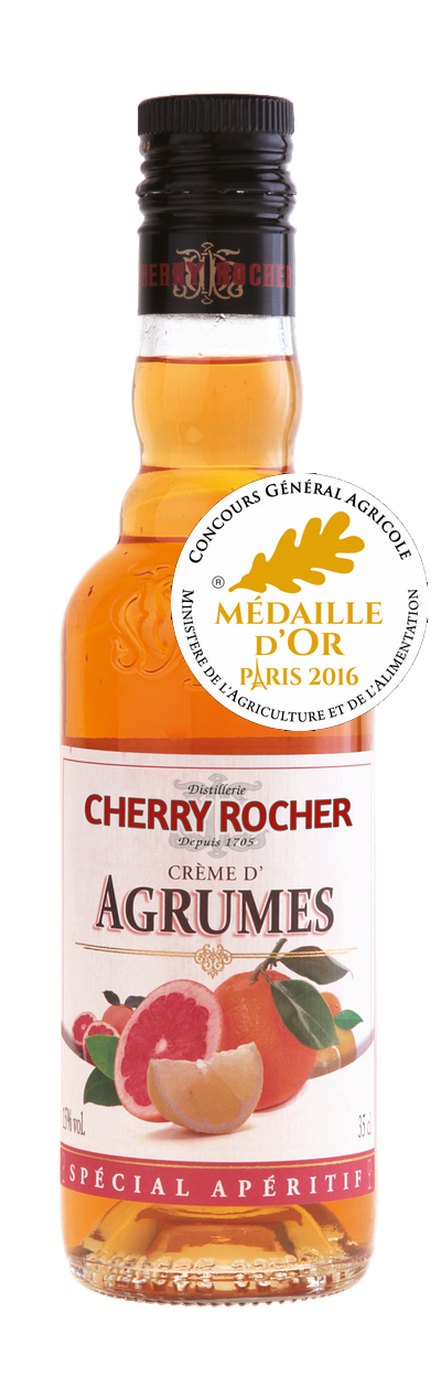 Crème d'agrumes 35 cl / Citrus liqueur - Cherry Rocher