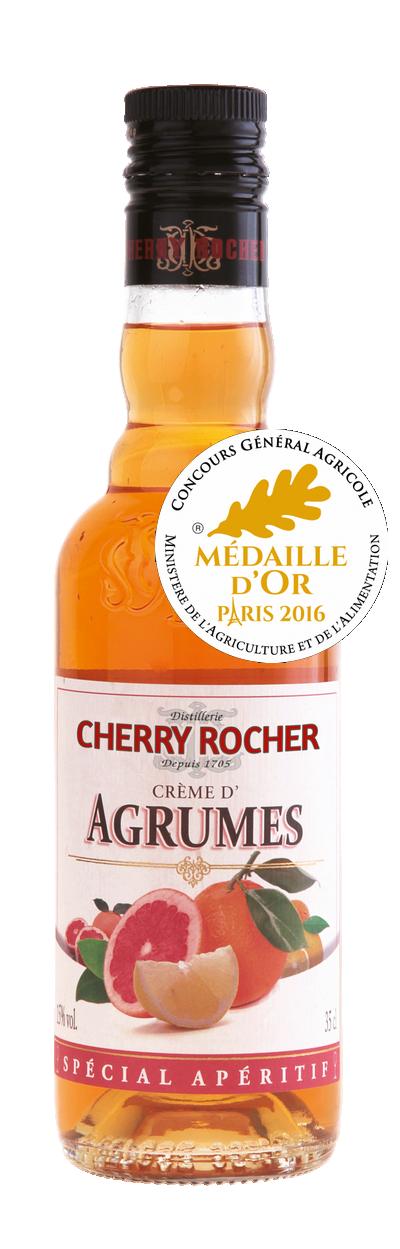 Crème d'agrumes 35cl - Cherry Rocher