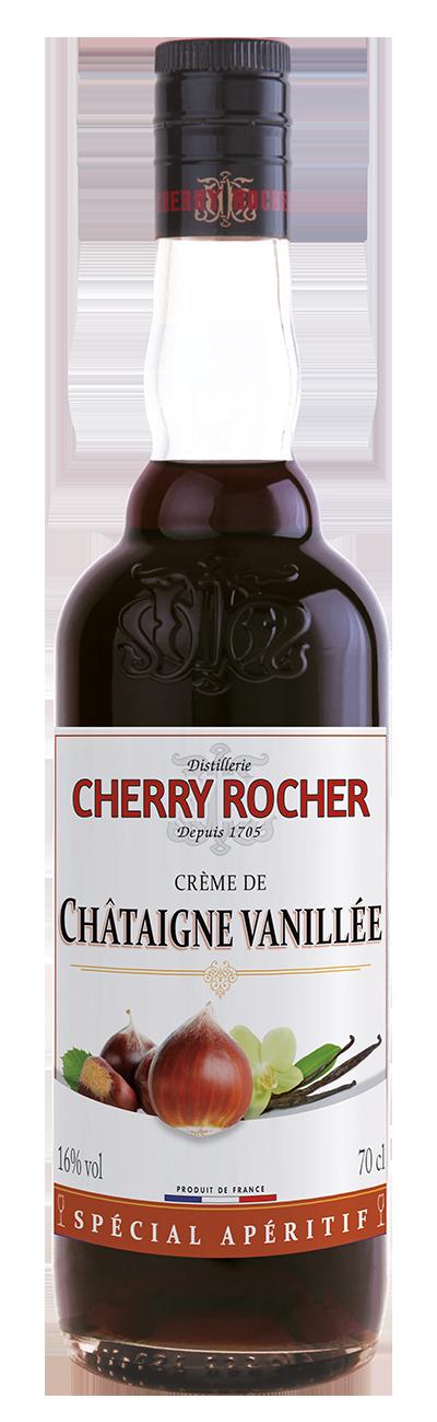 Crème de châtaigne vanillée / Vanilla Chestnut Liqueur - Cherry Rocher