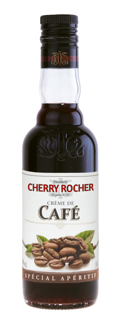 Crème de café - Cherry Rocher