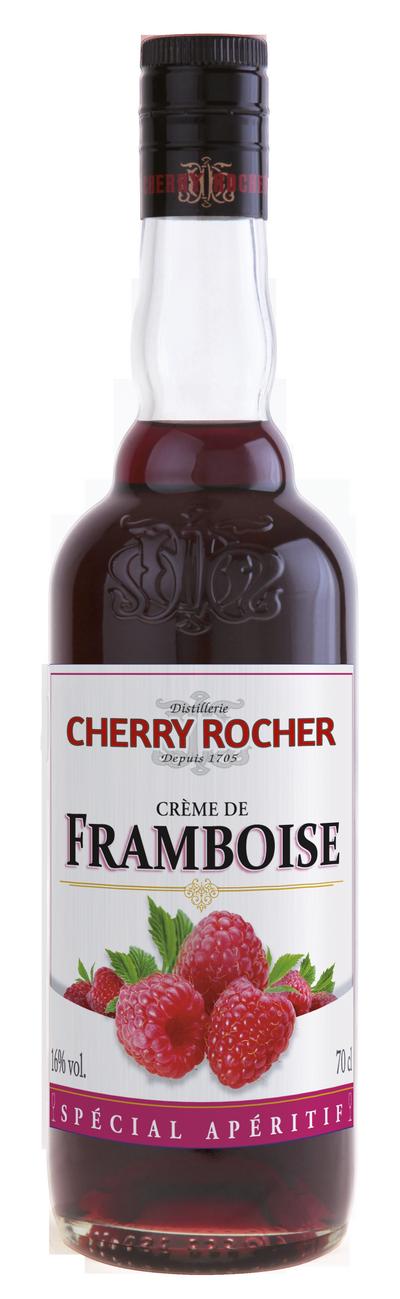 Crème de framboise - Cherry Rocher