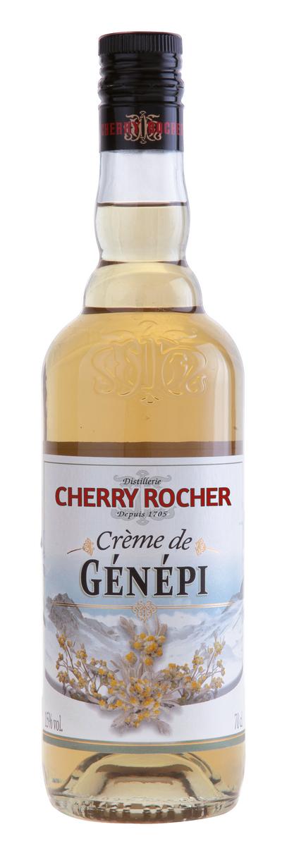Crème de génépi - Cherry Rocher