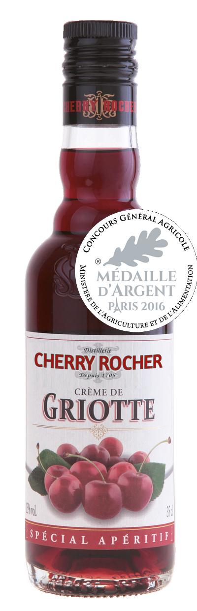 Crème de griotte / Morello cherries liqueur - Cherry Rocher