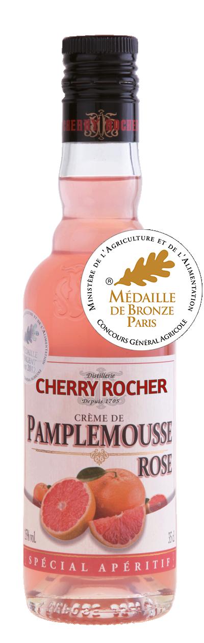 Crème de pamplemousse rose / Pink grapefruit liqueur - Cherry Rocher