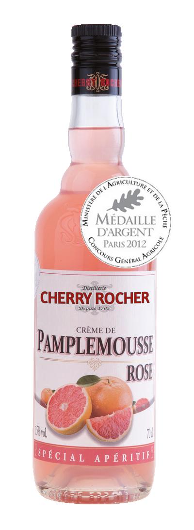 Crème de pamplemousse rose - Cherry Rocher