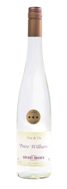 Eau de vie de poire Williams - Cherry Rocher