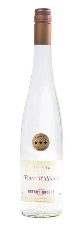 Eau de vie de poire Williams / Pear Brandy - Cherry Rocher
