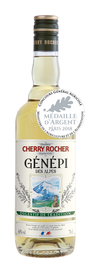 Génépi des Alpes 70 cl - Cherry Rocher