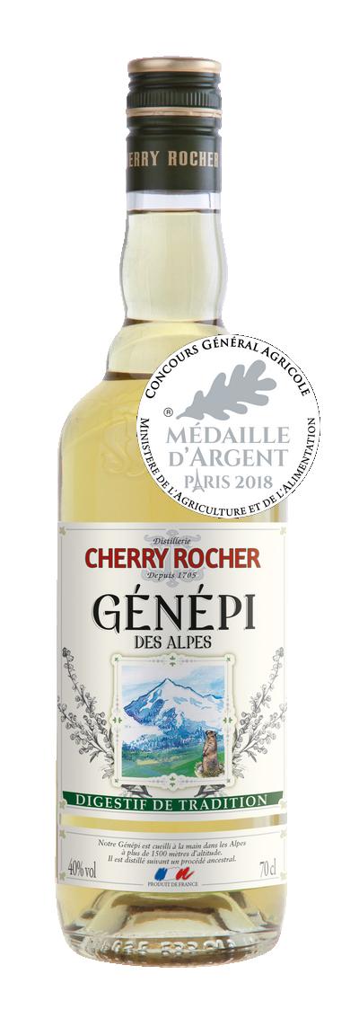 Génépi des Alpes 70cl - Cherry Rocher