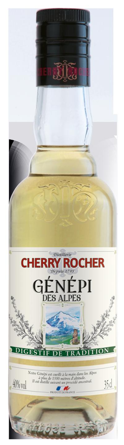 Génépi des Alpes 35 cl - Cherry Rocher