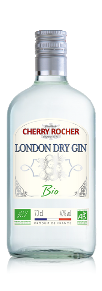 Organic London Dry Gin - Cherry Rocher