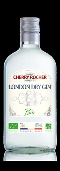 London Dry Gin BIO certifié AB - Cherry Rocher