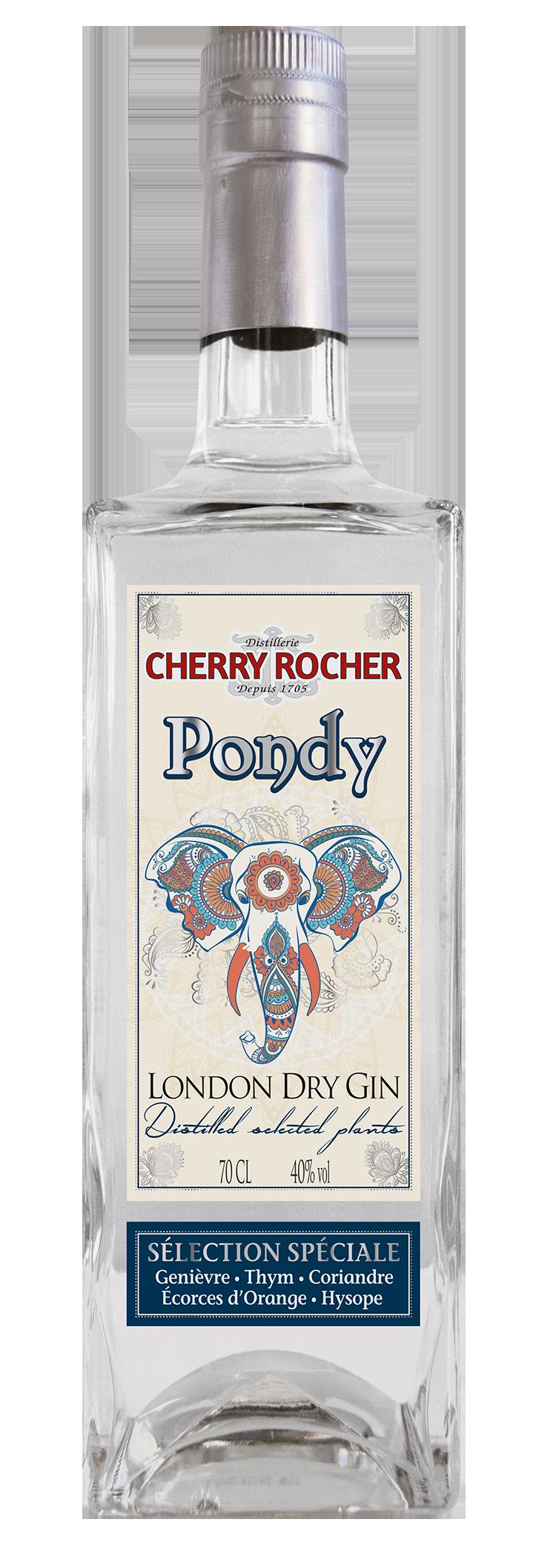 Gin Pondy - Cherry Rocher