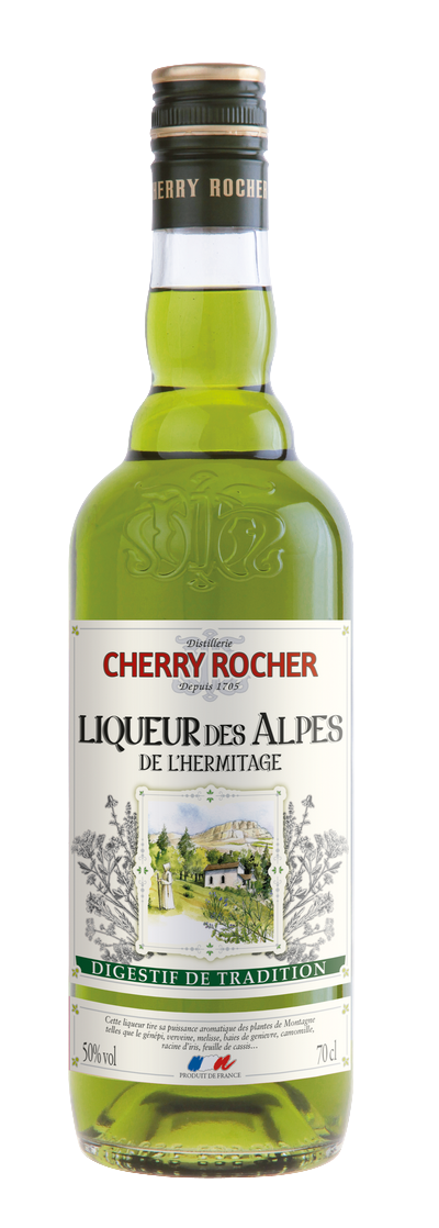 Hermitage Green Liqueur - Cherry Rocher