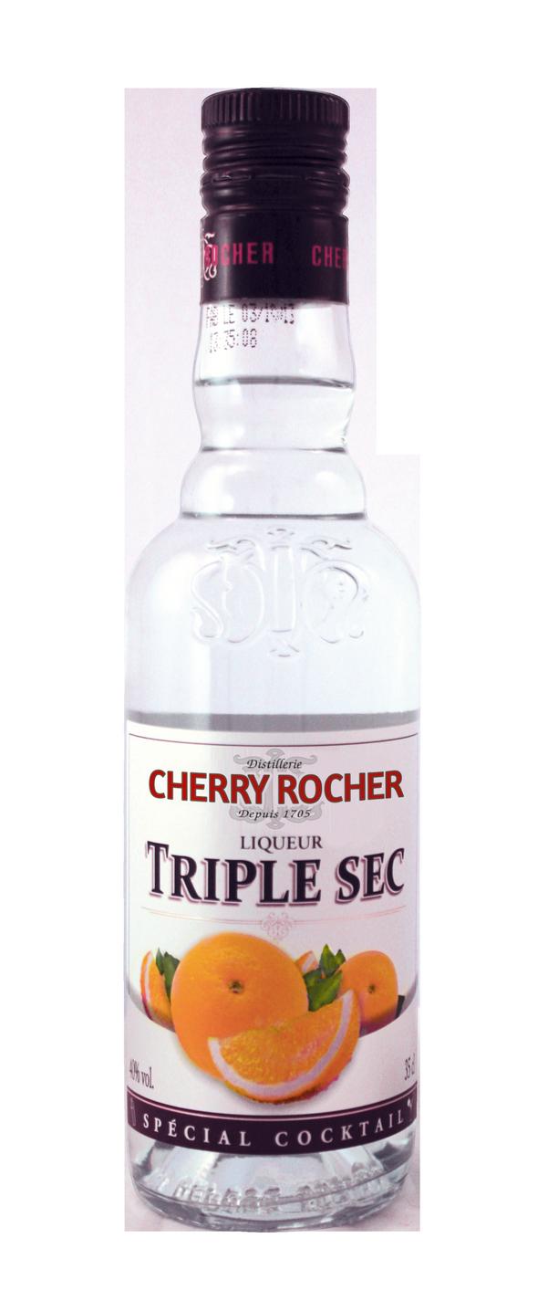 Liqueur triple sec - Cherry Rocher