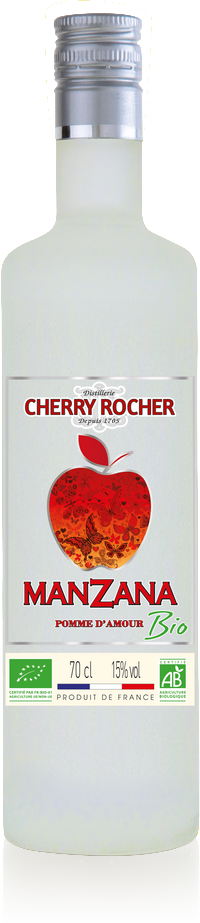 Organic Candy Apple Flavor Manzana - Cherry Rocher