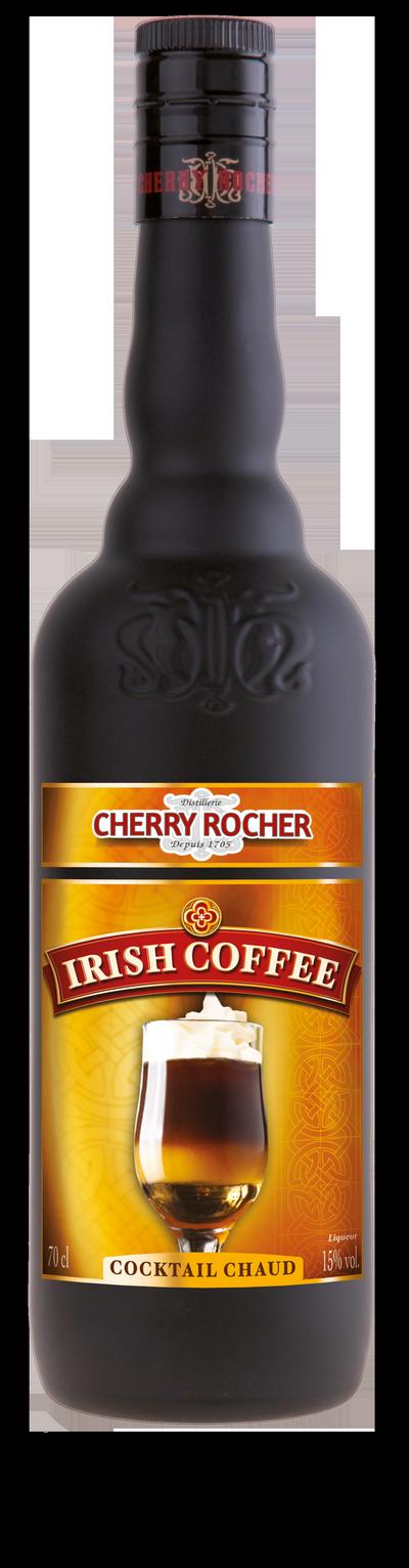 Irish coffee - Cherry Rocher